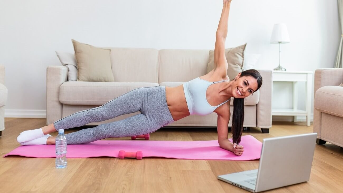 pilates online kurs - anja auer fitnesstrainer