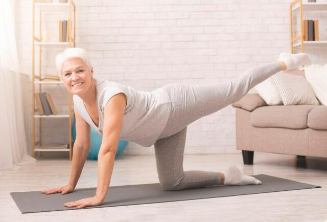 pilates video kurs online - anja auer fitnesstrainerin