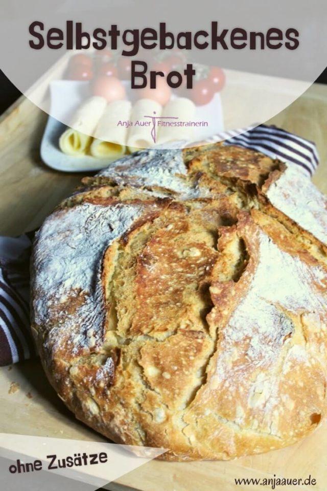 selbstgebackenes Brot ohne Zusätze - anja auer pilates trainer