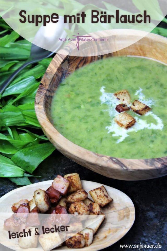 Suppe mit Baerlauch