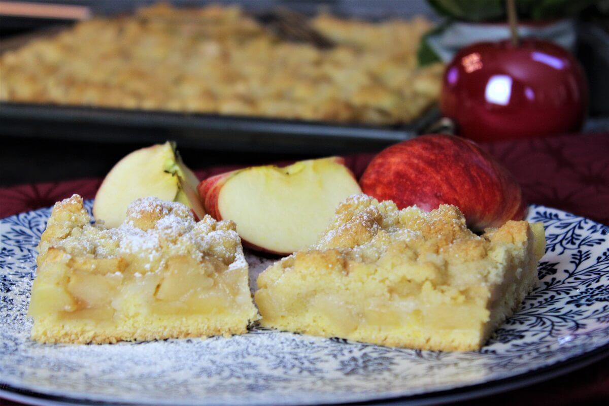 Apfelkuchen vom blech - anja auer