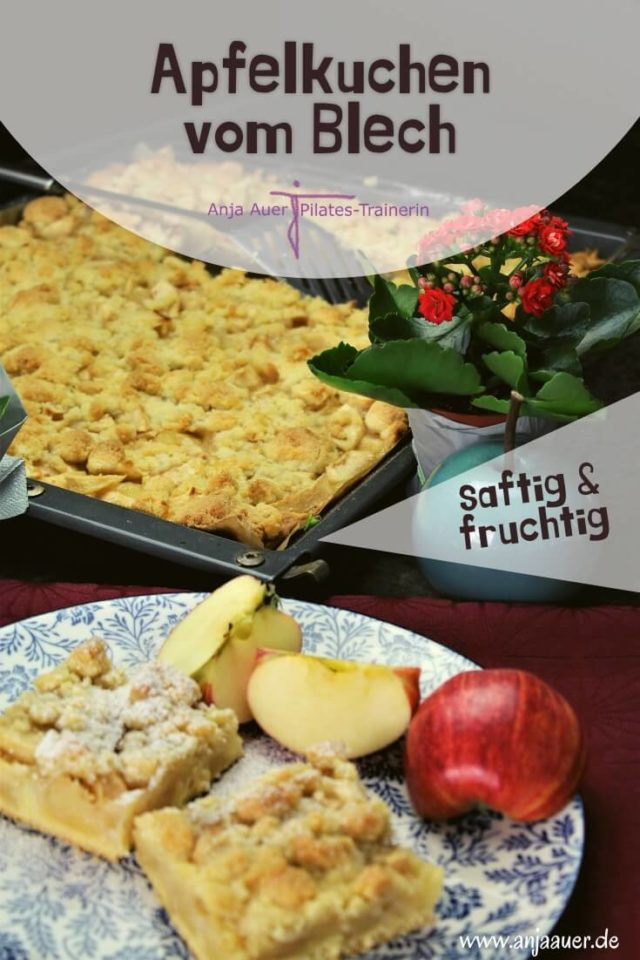 Apfelkuchen vom blech - fitness pin (1)