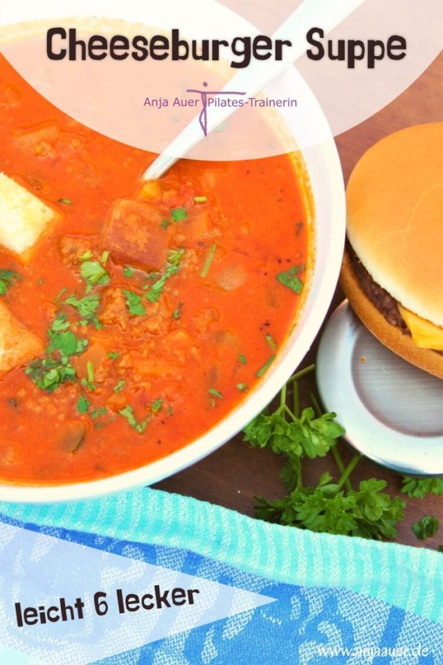 cheeseburger suppe - fitness pin